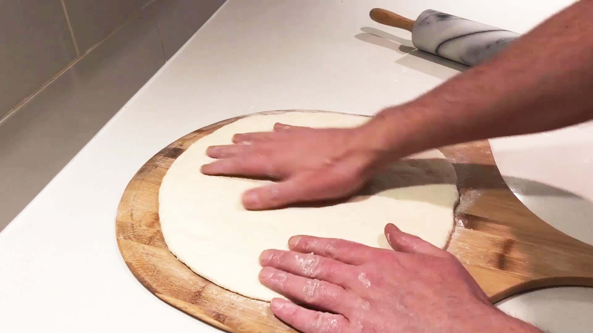 How to make wild pizza dough