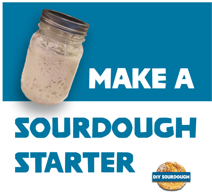 make a sourdough starter