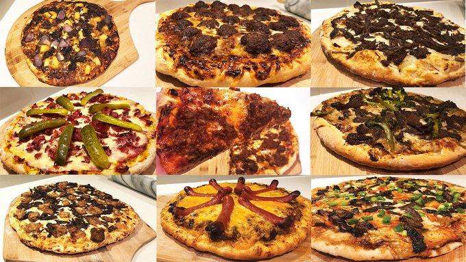 Weird Wild Beef-Style Pizza's
