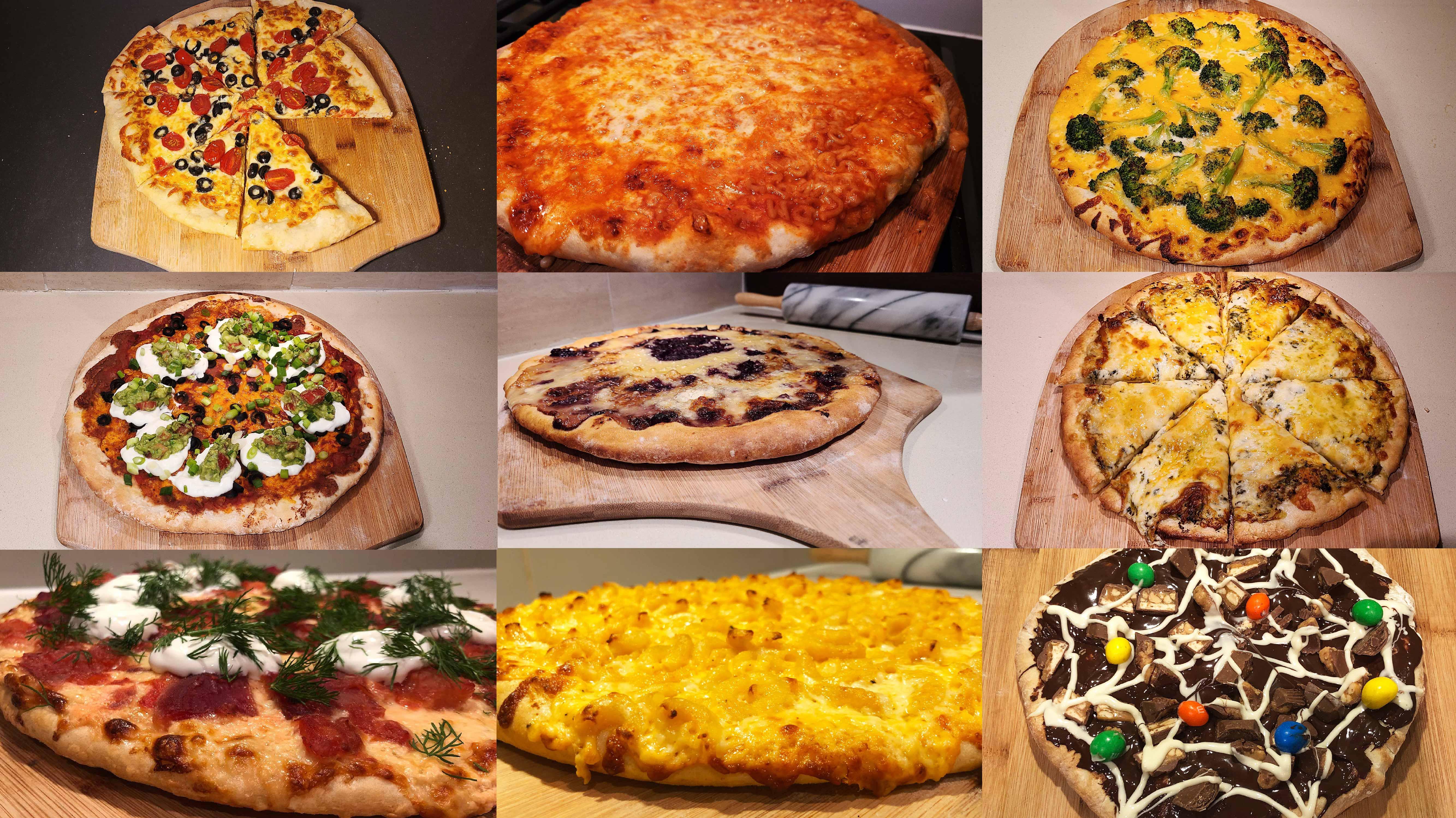 9 Weird WIld Vegetarian-Style Pizzas